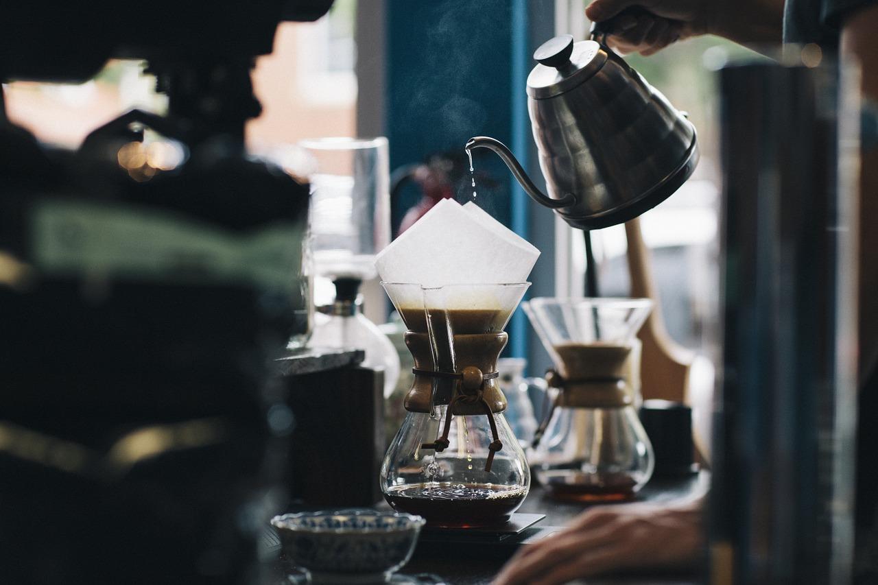 老夫婦が営むコーヒ屋